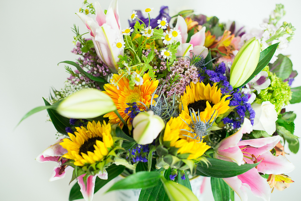 Bountiful Bouquet. Designed by Joshua. Los Angeles Flower Club.